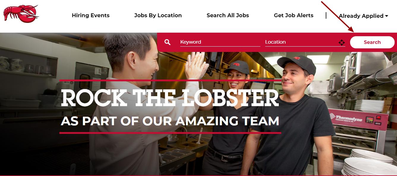Red Lobster jobs apply