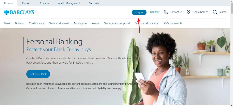 Barclays Personal banking Login