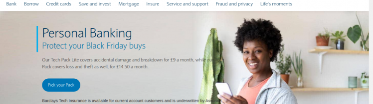 Barclays Personal banking Logo