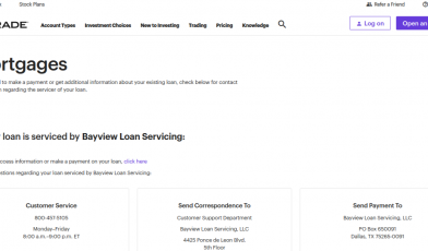 ETrade Mortgage Logo