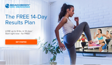 beachbody on demand free trial