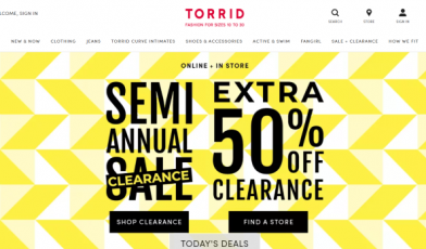 Torrid Customer Satisfaction Survey