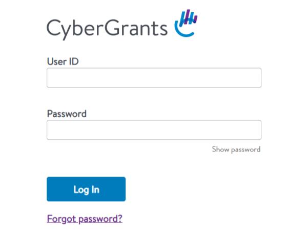CyberGrants Login