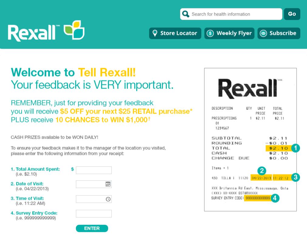 Tell Rexall