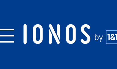 IONOS by 1 by 1 Logo