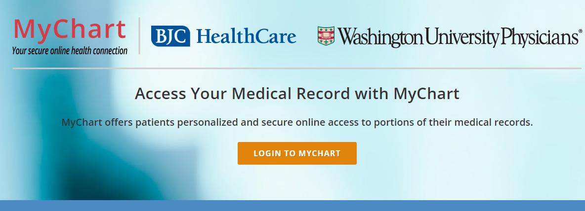 bjc healthcare login